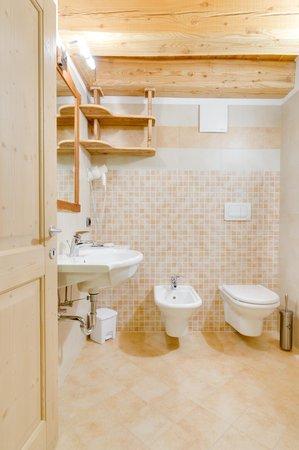 Foto del bagno Camere in agriturismo Maso Coler