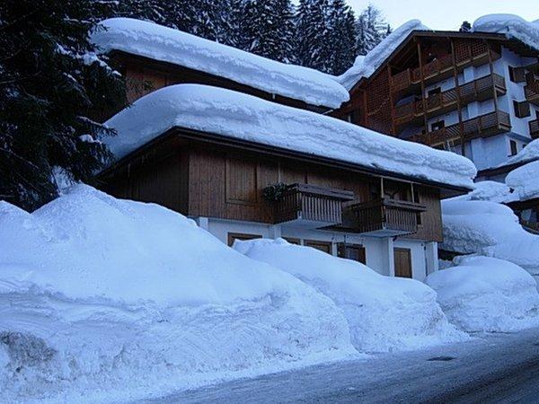 Foto invernale di presentazione Baita - Residence