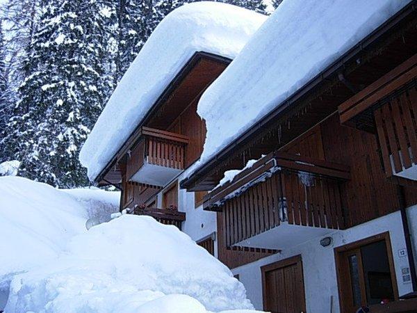 Foto esterno in inverno Baita