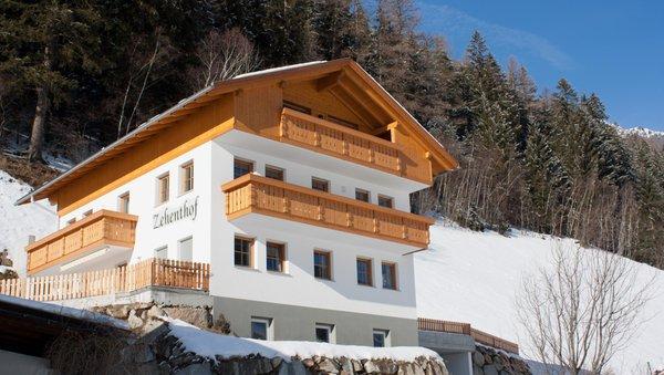 Foto invernale di presentazione Zehenthof - Appartamenti in agriturismo 2 fiori