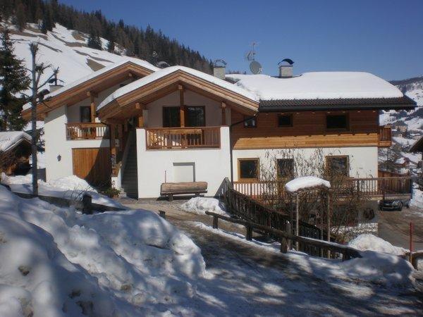 Foto invernale di presentazione Appartamenti Villa Antriprà