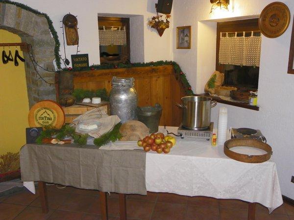 Il ristorante La Thuile (Monte Bianco) Les Granges