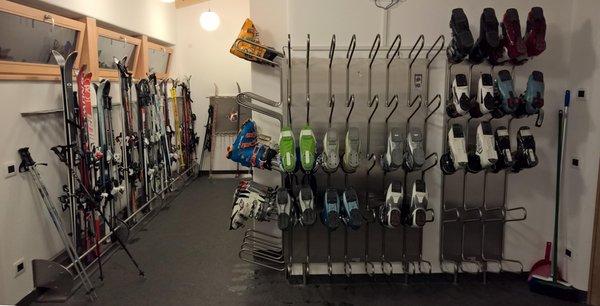 La skiroom Alpine Hotel Gran Fodá