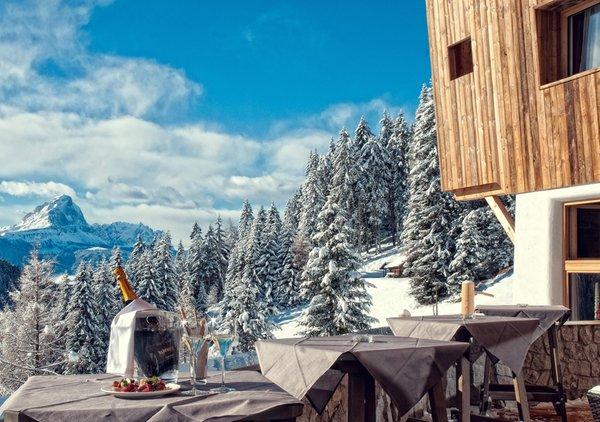 Il ristorante Passo Furcia (San Vigilio di Marebbe) Alpine Hotel Gran Fodá