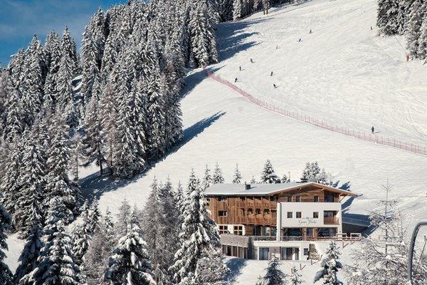 Foto invernale di presentazione Alpine Hotel Gran Fodá - Hotel 3 stelle