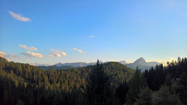 Panorama Passo Furcia (San Vigilio di Marebbe)