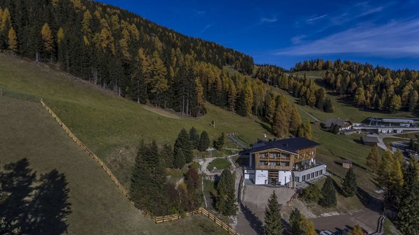 Lage Alpine Hotel Gran Fodá Passo Furcia (San Vigilio di Marebbe)