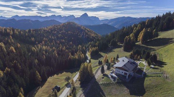La posizione Alpine Hotel Gran Fodá Passo Furcia (San Vigilio di Marebbe)
