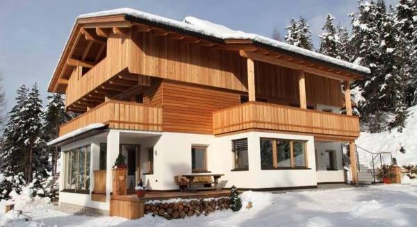 Foto invernale di presentazione Ciasa Murin - Appartamenti 3 soli