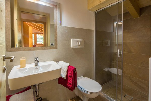 Photo of the bathroom Apartments Ciasa Murin