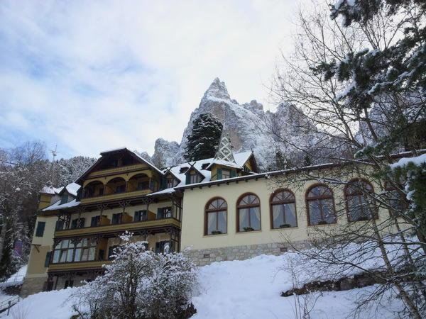 Foto invernale di presentazione Salegg - Hotel 3 stelle