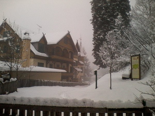 Photo exteriors in winter Salegg