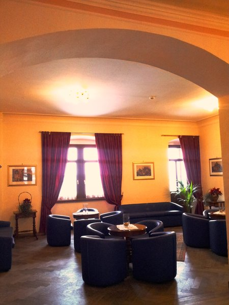 The living room Hotel Salegg