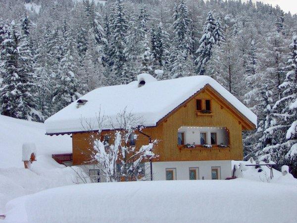 Foto esterno in inverno Maso Arslada