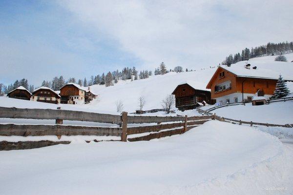 Foto invernale di presentazione Maso Arslada - B&B + Appartamenti 2 fiori