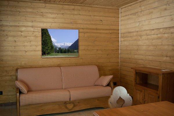 Der Wohnraum Campingplatz Margherita