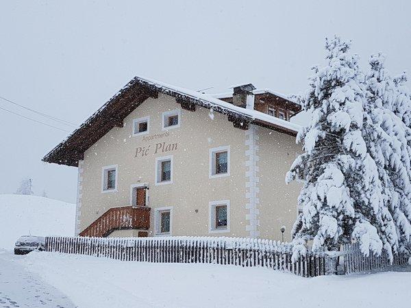 Winter Präsentationsbild Pic' Plan - Ferienwohnungen 2 Sonnen