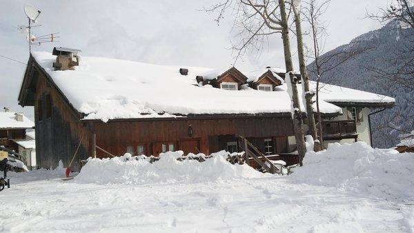 Foto invernale di presentazione Ciasa Larcionè Dolomites - Appartamenti