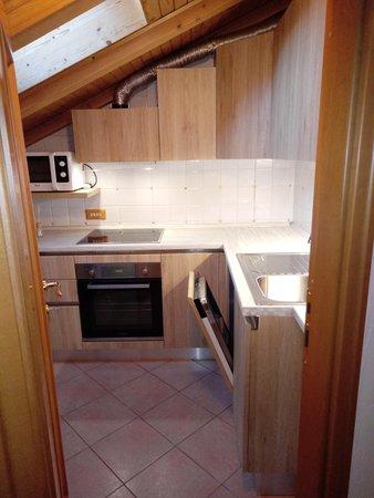 Foto della cucina Ciasa Larcionè Dolomites