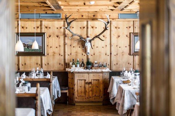 The restaurant San Cassiano Pralongià