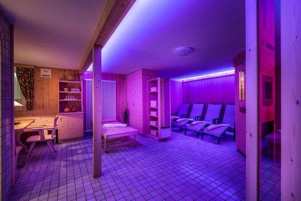 The living area Mountain Hut-Hotel Pralongià