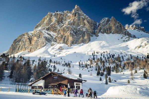 Winter Präsentationsbild Info Point Cortina d'Ampezzo