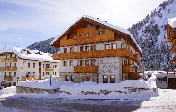 Foto invernale di presentazione Baita Antlia - Residence 3 stelle