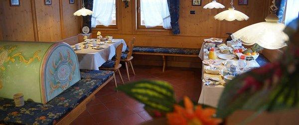 La colazione Baita Antlia - Residence 3 stelle