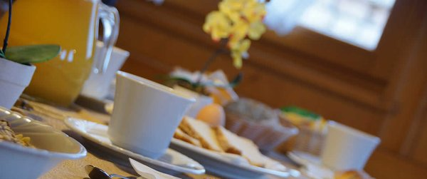 Das Frühstück Baita Antlia - Residence 3 Sterne