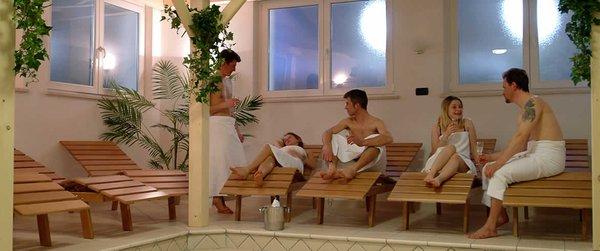 Foto vom Wellness-Bereich Residence Baita Antlia