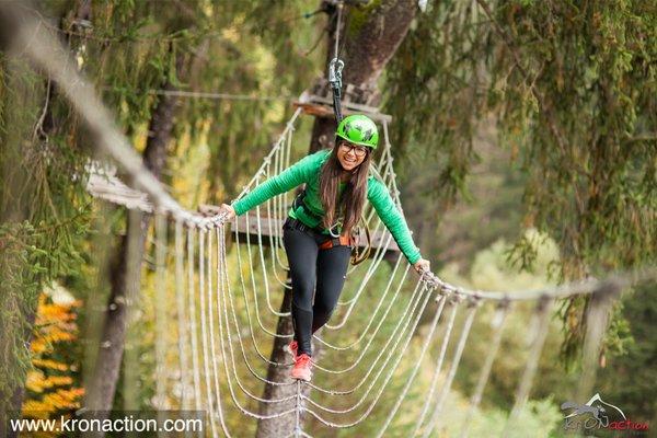 Foto di presentazione Kronaction - Parco avventura