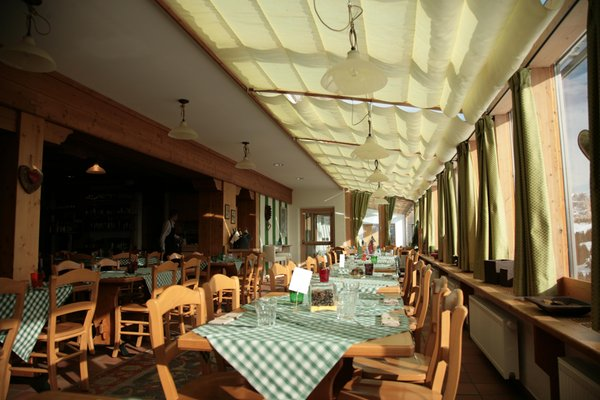 The restaurant Corvara Col Alt