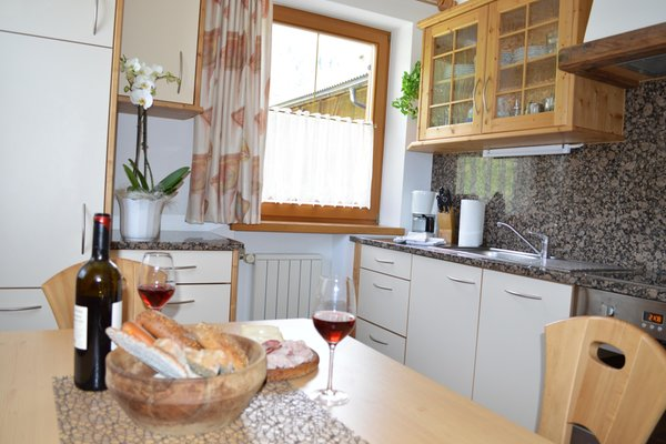 Foto della cucina Nantlhof