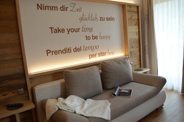 La zona giorno Nantlhof - Appartamenti in agriturismo 3 fiori