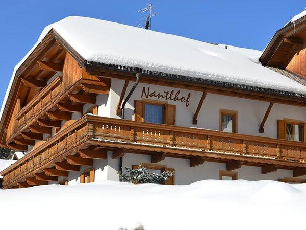 Foto invernale di presentazione Nantlhof - Appartamenti in agriturismo 3 fiori