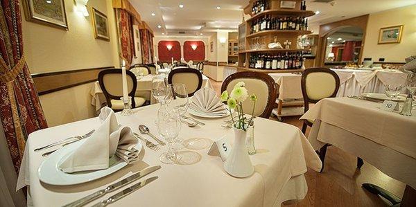 The restaurant Livigno St. Michael