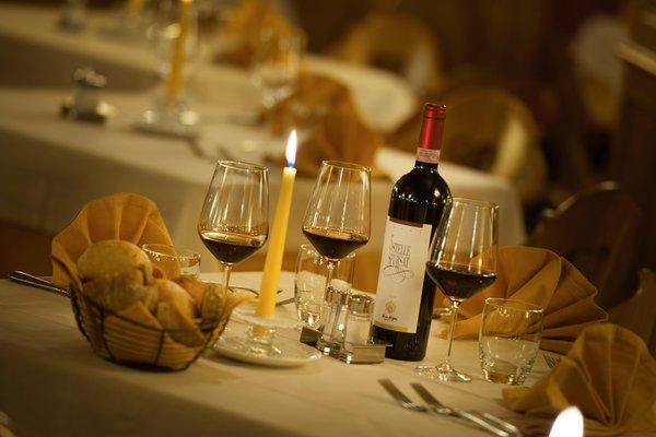 The restaurant Livigno Valtellina