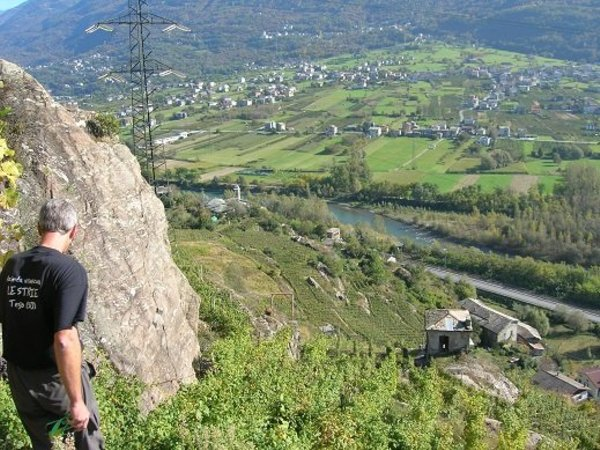 Panoramic view Teglio (Tirano - Media Valle)