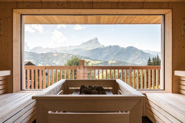 Foto della sauna La Val