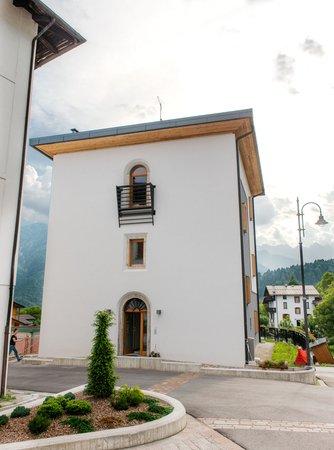Foto estiva di presentazione Dolomiti - Albergo diffuso
