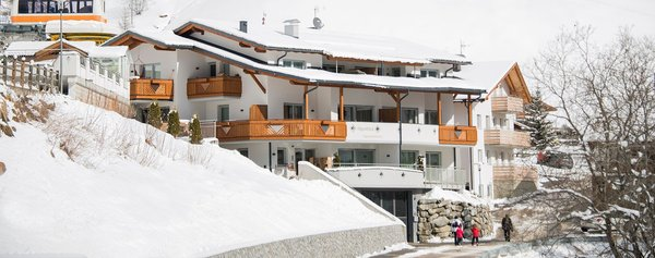 Foto invernale di presentazione Alpenblick Apartements - Appartamenti 3 soli