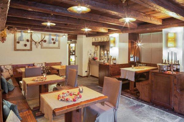Das Restaurant Sauris Chalet Rikhelan