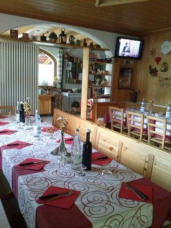 Il ristorante Paluzza (Carnia) Al Borg