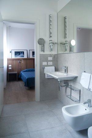 Foto del bagno Hotel Oliva