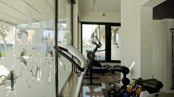 Foto della zona fitness Hotel Oliva
