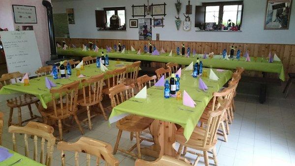 Il ristorante Dogna (Tarvisiano) Plan dei Spadovai