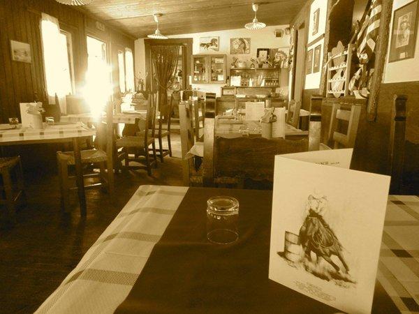 Il ristorante Budoia Al Ranch