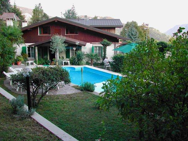 Foto esterno in estate Villa Margherita