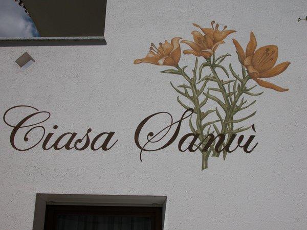 Photo exteriors in summer Ciasa Sanvi