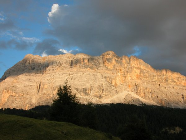 Panoramic view La Villa